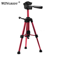 купить WINGRIDY Profesional Camera Tripod Stand for Canon Nikon Sony DSLR Camera Camcorder Mini Protable Live Tripod For Phone Camera дешево