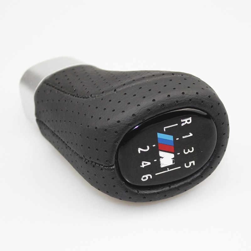 Perilla de palanca de cambios de coche de deportes palanca de balonmano 5 6 velocidad para BMW 1 3 5 6 serie E30 E32 E34 E36 E38 E39 E46 E53 E60 E63 E83 E84 E91