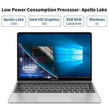"Teclast F7S 14.1"" Laptop 1920x1080 IPS Notebook 8GB RAM 128GB ROM SSD Slot Windows 10 Intel Apollo Lake Dual Wifi Thin Computer 2"