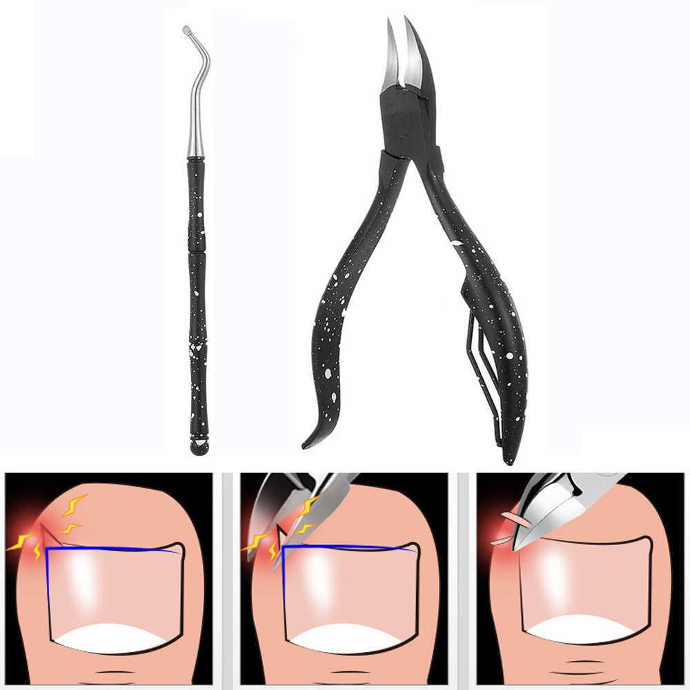 חדש שחור ציפורן קליפר Edge קאטר מניקור מספריים Plier כלי פדיקור עץ מסיר עור מת 100/120/150 /180/240/320
