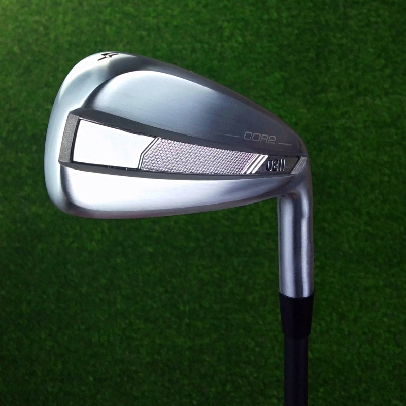 New 0211 Irons Silvery Olf Clubs 3-9WG Golf Forged Irons 0211 Steel Shaft With Head Cover