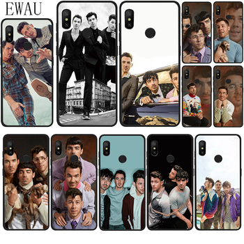 EWAU Jonas Brothers Silicone phone case for Xiaomi Redmi Note 4 4X 5 6 7 8 Pro 5A prime image