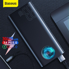 Baseus 30000mAh Power Bank Fast Charging PD3.0 QC 3.0 Quick