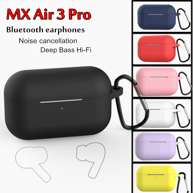 MX Air 3 Pro Wireless Earphones GPRS Bluetooth Headphones Noise cancellation earbuds HIFI Headset for iphone Android IOS Mobile