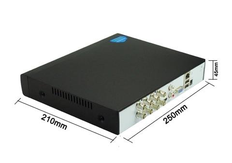 video hibrido wifi 6 em 1 tvi cvi nvr ahd cctv dvr