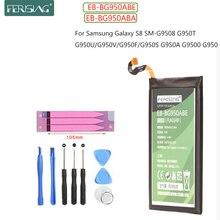 FERISING Original EB-BG950ABE For Samsung Galaxy S8 SM-G9508 G950F G950A G950T G950U G950V G950U G950V G950S Batteries Bateria battery original for samsung galaxy s8 eb bg950abe sm g9508 g9500 g950u li ion replacement batteria akku