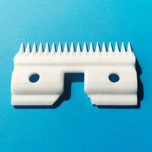 18 зубьев керамический сменный резак лезвия практичные движущиеся ПЭТ керамические лезвия уход домашний инструмент аксессуар