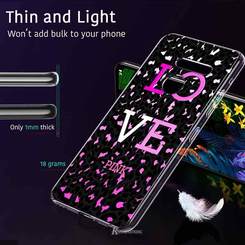 Liebe rosa girly ziemlich raum Stil für LG W20 W10 V50S V50 V40 V30 K50S K40S K30 K20 Q60 Q8 q7 Q6 G8 G7 G6 ThinQ Telefon Fall