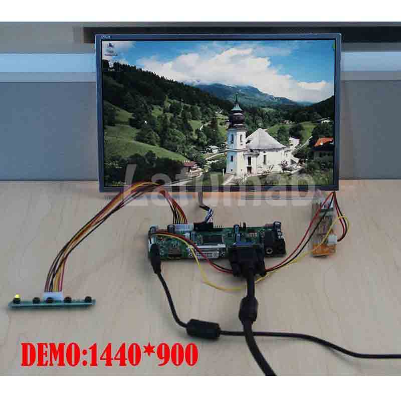 LCD Controller Converter Board Monitor HDMI+DVI+VGA Kit for LTN154P2-L05