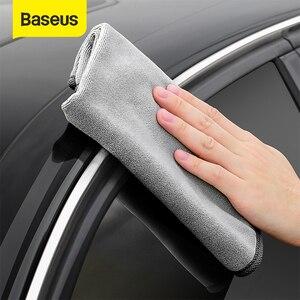 Image 1 - Baseus Toalla de lavado de coches, toalla de microfibra seca, Kit de limpieza automática, accesorios para el cuidado del coche