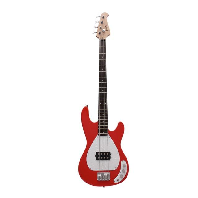IRIN Electric Guitar 4 String Iron Pewter Electric Bass 3