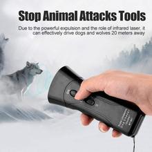 Stop Chaser Ultrasonic Dog Attacks-Repeller Behavior-Trainer Barking-Device Animal