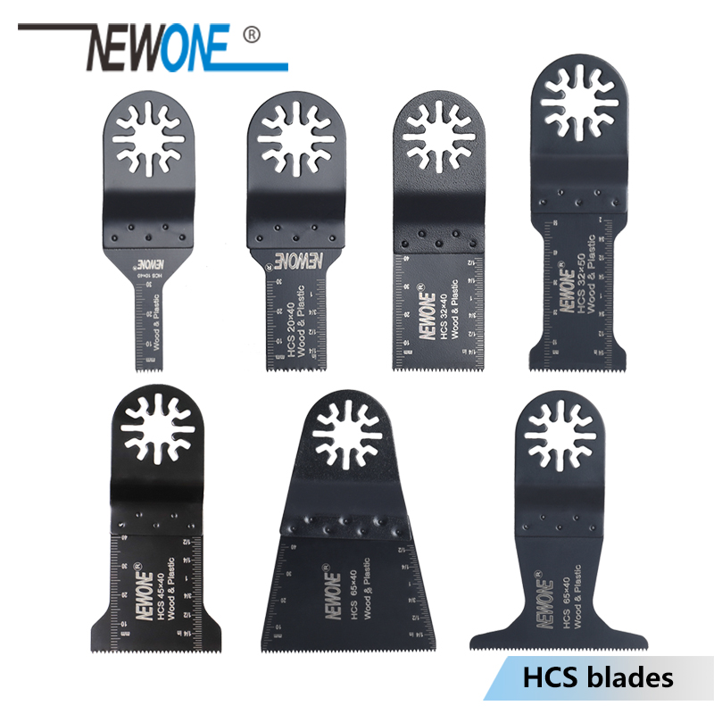 NEWONE HCS 10/20/32/45/65mm Oscillating Tool Saw Blades Multimaster Tool Saw Blade Wood/plastic Cutting Power Tool Accessories