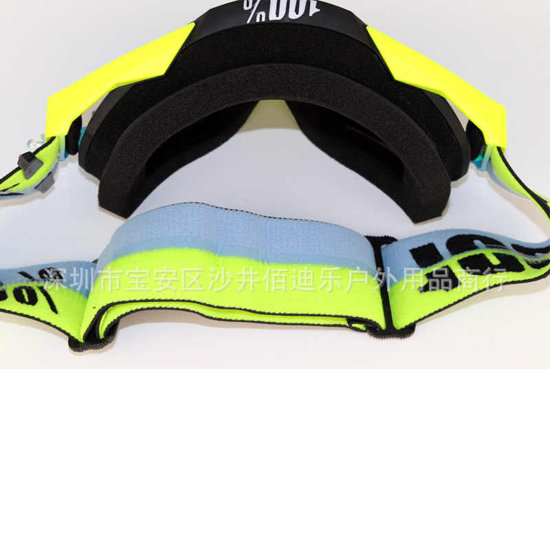 Klasik yüzde yüz gözlük Scrambling motosiklet kask göz koruması gözlük rüzgar toz geçirmez gözlük