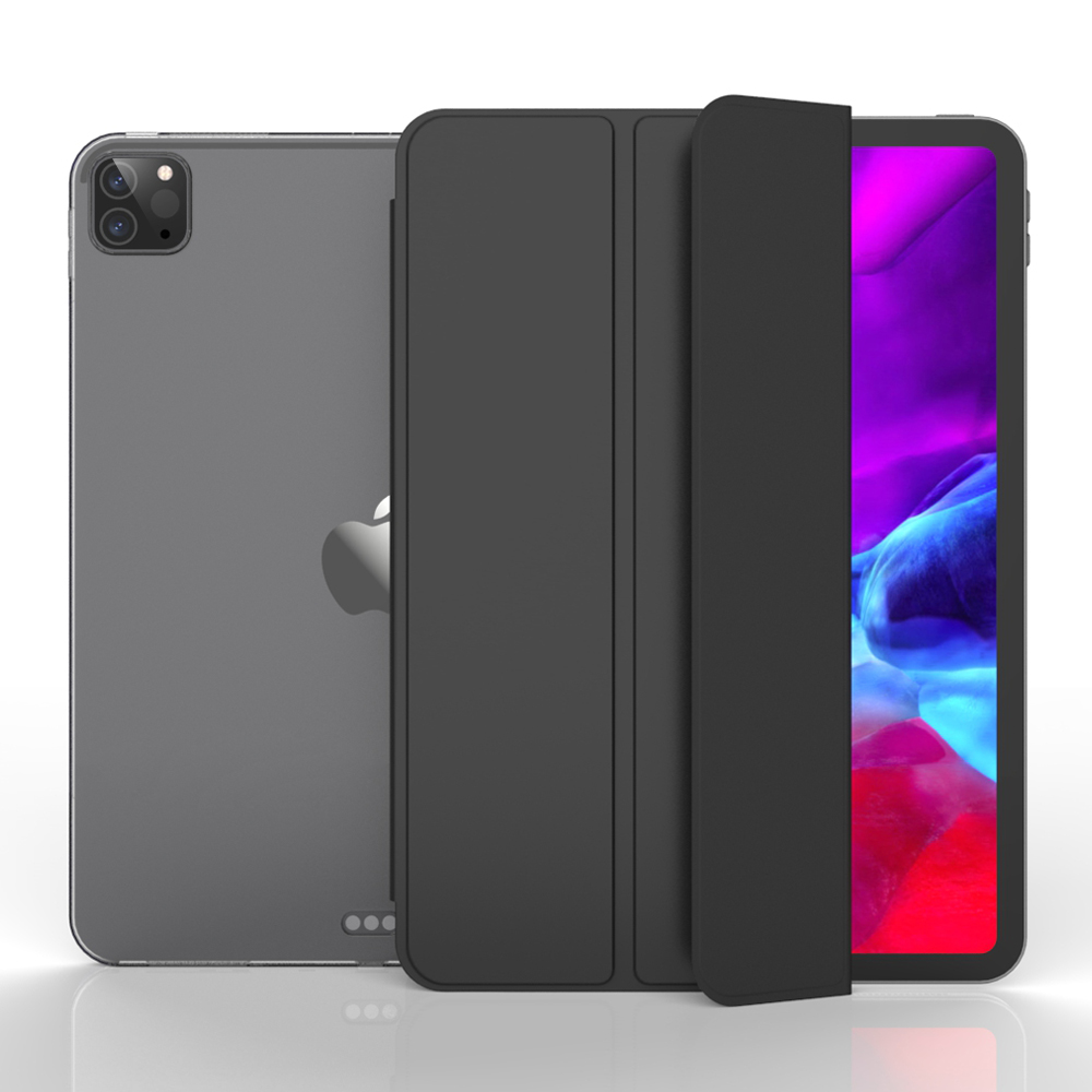 GOOJODOQ For IPad Pro 11 12.9 Case 2020 & 2018 Pro 2020 Case Funda Support Wireless Charging For IPad Pro 2020 Soft TPU Cover