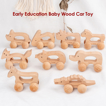 Classic Educational Assemble Toys Baby Cartoon Wooden Animal Toys Car Fun Educational Toy for Kids Birthday Gift