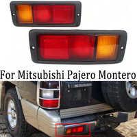 MZORANGE 2pcs Left & Right Posteriore della Coda Della Lampada Della Luce MB124963 MB124964 214-1946L-UE 214-1946R-UE Fit per Mitsubishi Pajero Montero
