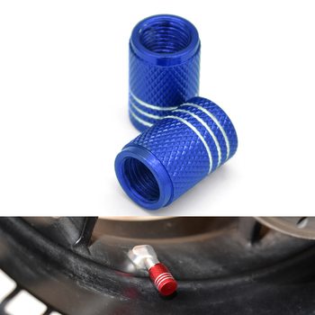 Motorcycle Tire Valve Dustproof Cap CNC Aluminum Tyre Rim Air Port Cover For YAMAHA YZ 125 250 450 250F 450F 250X 250FX 450FX image