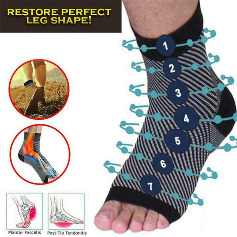 Vita-Wear Copper Infused Magnetic Foot Support Compression Original Quality