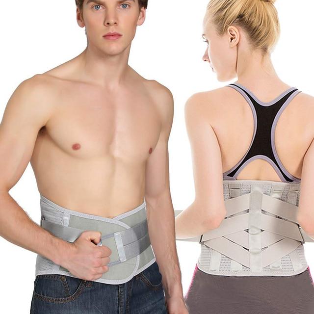 Lower Back Support For Men And Women Neoprene Waist Support Gym Waist Protector Fitness Lumbar Sweat Belt Sport Accessories 1