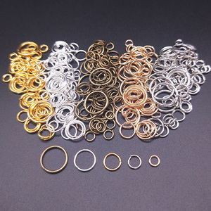 100Pcs 4/5/6/8/10mm Open Jump Rings Factory wholesale Necklace Bracelet Earring Pendant Split Connectors DIY Making Accessories(China)
