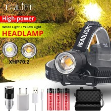 3000 Lumens CREE XM-L XML T6 LED Headlamp Headlight Flashlight Head Lamp Light + 2*18650 battery + charger + Car Charger 2000 lumens cree xm l xml t6 led headlamp headlight flashlight head lamp light 18650 ac car charger for hunting camping