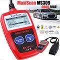 Сканер диагностический считыватель кодов Новый MS309 OBD2 OBDII автомобильный диагностический инструмент