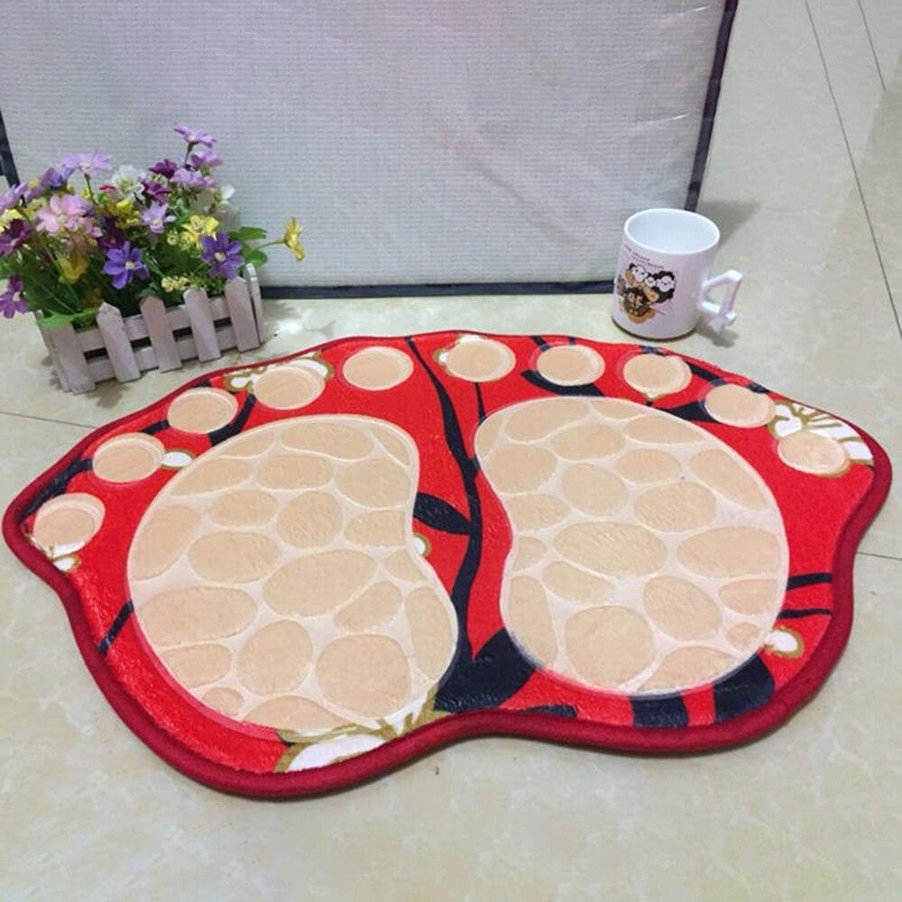 40*60CM Große Füße Bad Wc Matte Bad RugsArea Teppiche Teppich Fußmatte Boden Matte Saugfähigen Matten Fuß Pad teppich