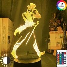 Johnnie Walker Keep Walking Led Night Light para o Quarto Bar Iluminação Decorativa Usb Alimentado Por Bateria Luz Noturna Lâmpada De Mesa Colorido