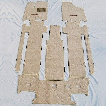 Dedicated car floor mats for TOYOTA SIENNA car mat anti slip carpet mat car pad for sienna 7or 8 seat trunk mats car accessories фото