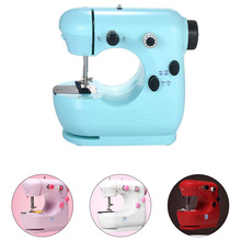 INNE Sewing Machine Speed Adjustment  Foot Pedal Mini Sew Machines Manual Portable Stitching For new tailor Electric Light
