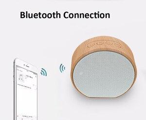 Image 3 - Hạt Gỗ Bluetooth Hỗ Trợ Thẻ TF Mini Di Động Loa Siêu Trầm Loa Không Dây Hỗ Trợ Âm Thanh Aux Trong Tay Và Bàn Tay Gọi Miễn Phí