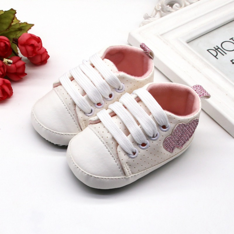 Canvas Classic Sneakers Newborn Baby Boys Girls First Walkers Sports Shoes Infant Toddler Soft Sole Anti-slip Baby Shoes