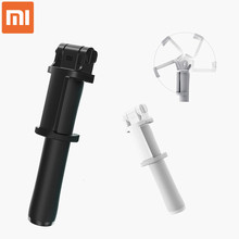 Original Xiaomi Selfie Stick Wired Monopod Shutter Holder Retractable Manual Shutter for Xiaomi Redmi IOS Android Mobile Phones(China)