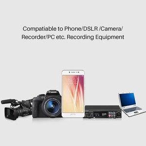 Image 4 - BOYA BY MM1 Microphone sur caméra enregistrement vidéo micro Microfone pour Xiaomi DJI Osmo poche DSLR appareil photo Sony iPhone