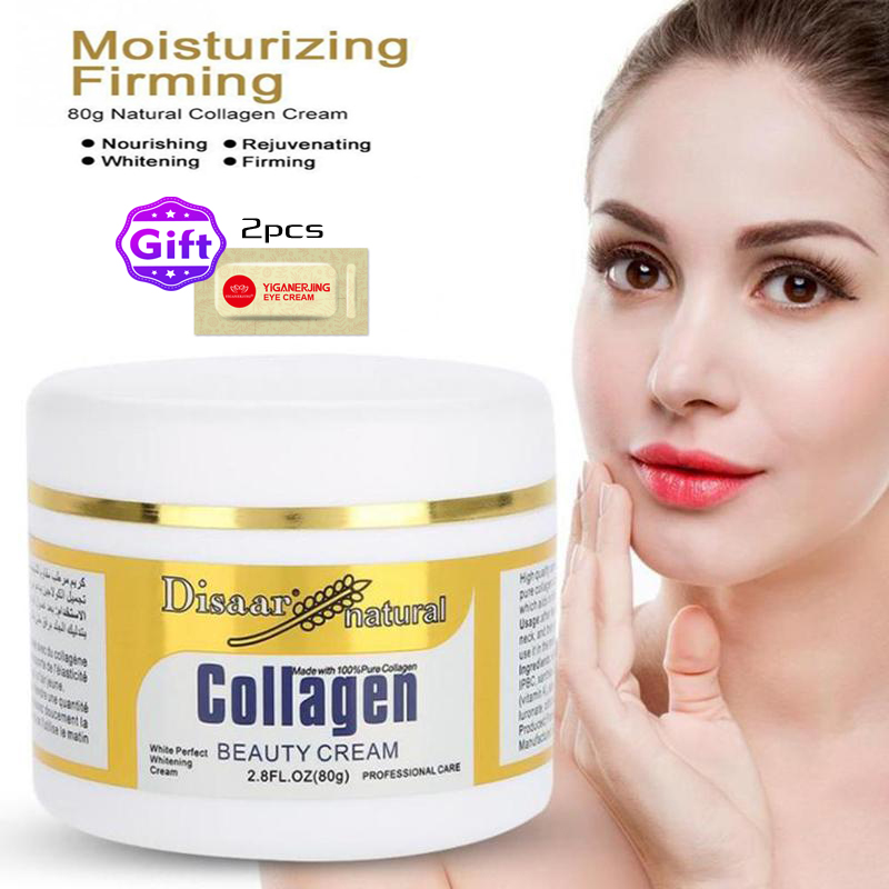 Disaar Collagen Power Lifting Cream 80g Firming Face Cream Skin Care Whitening Moisturizing Anti-aging Anti Wrinkle Facial Cream