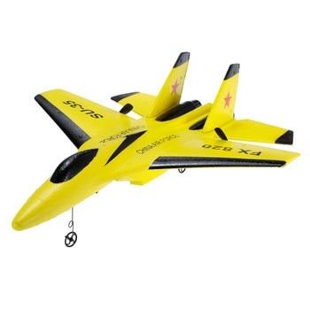 Flybear FX-820 2.4G 2CH Remote Control SU-35 Glider 290mm Wingspan EPP Micro Indoor RC Airplane Aircraft RTF