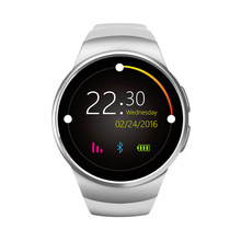 Round screen smart watch card heart rate monitor step touch screen Bluetooth watch sports watch phone k88s mtk2502c heart rate monitor smart watch phone gold