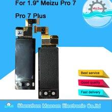 M & Sen pantalla Original para Meizu Pro 7, reparación de pantalla secundaria, Lente de Cristal, herramientas
