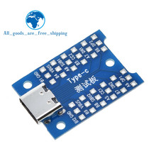 Tzt a nova interface usb tipo-c teste placa de carregamento diy para ardunio(China)
