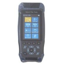 Pro mini OTDR Fiber Optic Otdr 1310 1550nm mit VFL OLS OPM Ereignis Karte 24dB für 64km Faser Kabel