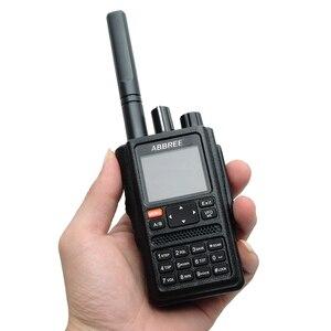 Image 5 - ABBREE AR F8 GPS מיקום שיתוף כל להקות (136 520 MHz) תדר/CTCSS זיהוי 1.77 LCD 999CH ווקי טוקי
