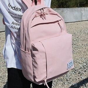 Image 3 - Mochila de nailon a la moda para mujeres, Mochilas escolares para adolescentes, mochila para estudiantes de estilo pijo, mochila femenina, Mochilas femeninas