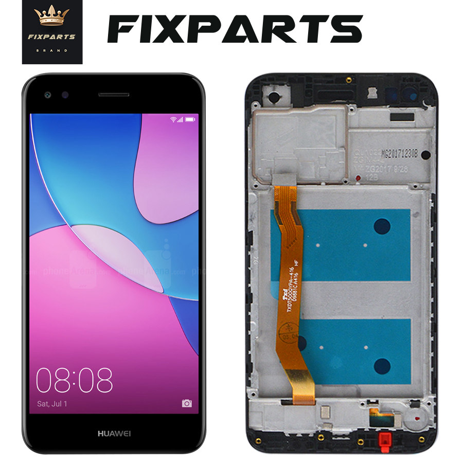 NEW Screen Huawei P9 Lite Mini LCD DIsplay Touch Screen Digitizer Assembly SLA-L22 LCD +Frame Replacement HUAWEI P9 Lite Mini