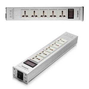 Image 5 - Xangsane LED جودة عالية متقدمة الصوت لتنقية الطاقة تصفية التيار المتناوب مقبس الطاقة العالمي تصفية الطاقة نمط جديد