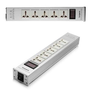 Image 5 - Xangsane purificador de alimentación de Audio, LED de alta calidad, filtro de corriente alterna, toma de corriente universal, potente filtro, nuevo patrón