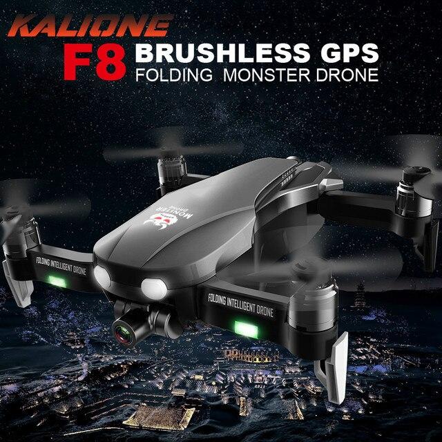F8 Anti shake Gimbal Drone 4K 5G WIFI GPS Drones kamera ile HD 1 km quadcopter SD kart drone profesyonel VS SG907 L109