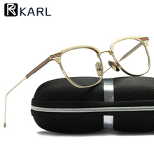 Women Glasses Frame Transparent Spectacles Can Be Equipped with Myopia Computer Protection Eye Retro Men