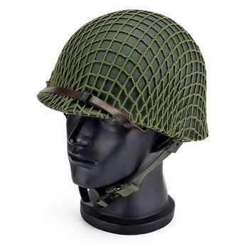 Casco antidisturbios de doble capa verde militar resistente casco ABS para deportes al aire libre casco táctico protección sombrero de seguridad