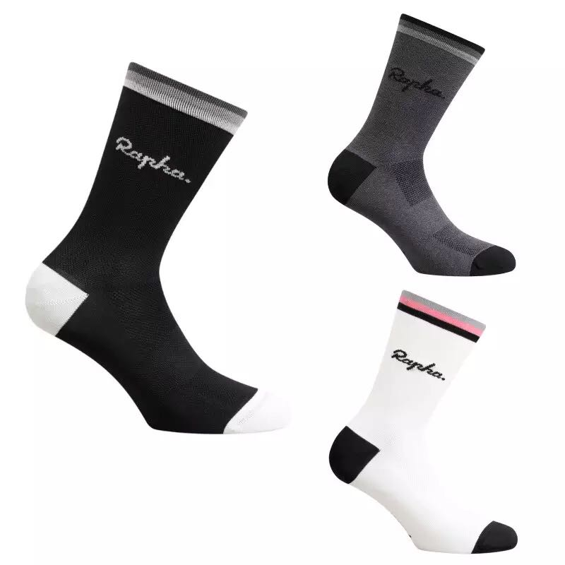 Professional Riding Cycling Socks Breathable Outdoor Exercise Sports Socks Compression Athletic Socks for Men size 38-44